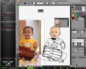 Tracing Foto